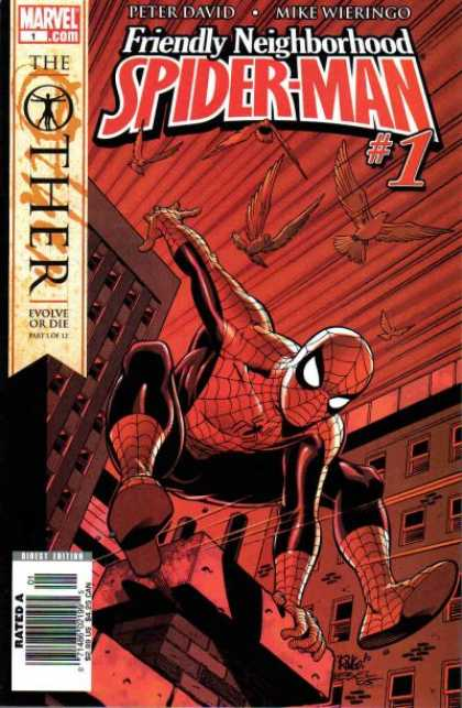 Friendly Neighborhood Spider-Man Comic Book Back Issues of Superheroes by A1Comix