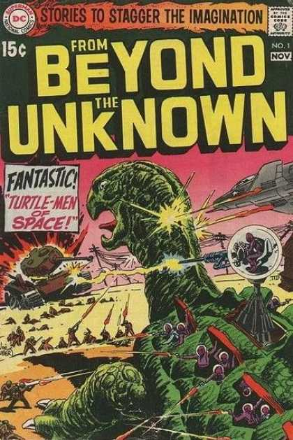 From Beyond the Unknown Comic Book Back Issues by A1 Comix