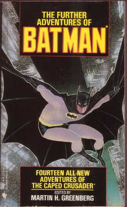 Further Adventures of Batman Comic Book Back Issues by A1 Comix