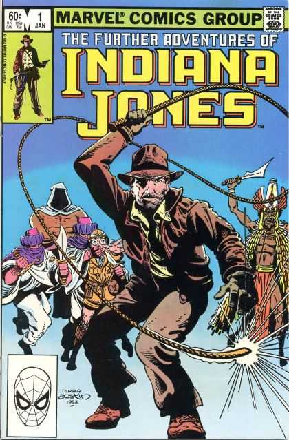 Further Adventures of Indiana Jones Comic Book Back Issues of Superheroes by A1Comix
