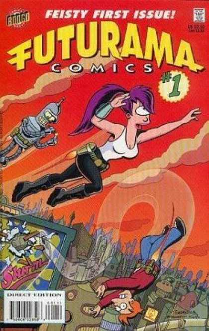 Futurama Comic Book Back Issues by A1 Comix