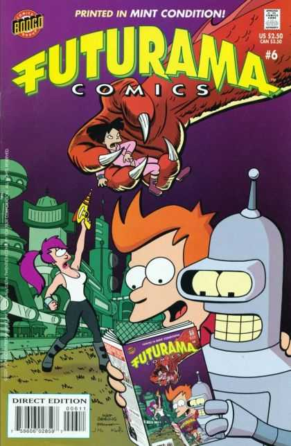 Futurama A1 Comix Comic Book Database