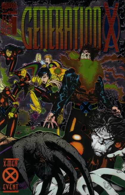 Generation X Comic Book Back Issues by A1 Comix
