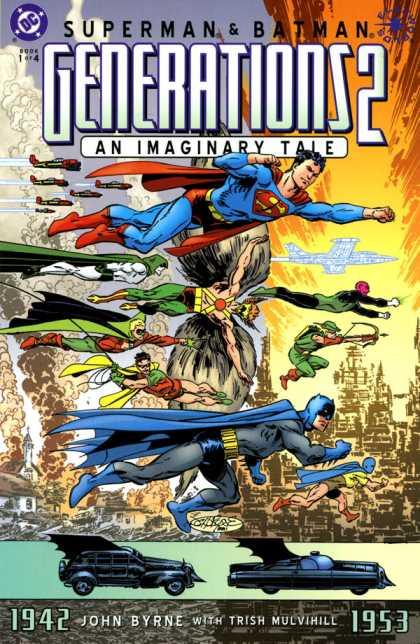 Superman & Batman Generations 2 Comic Book Back Issues by A1 Comix