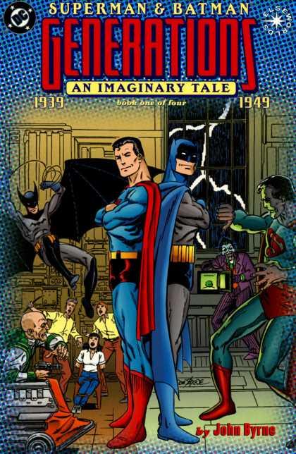 Superman & Batman Generations Comic Book Back Issues by A1 Comix