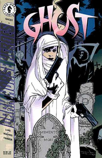 Ghost Comic Book Back Issues by A1 Comix