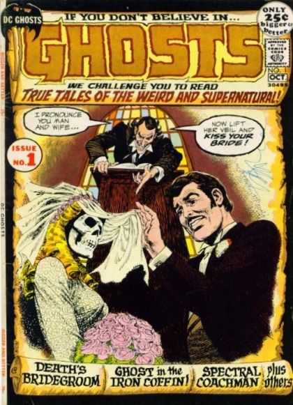 Ghosts Comic Book Back Issues by A1 Comix