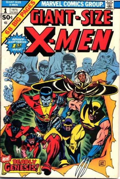 Giant Size X-Men Comic Book Back Issues by A1 Comix