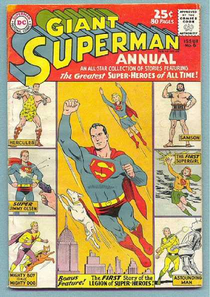 Giant Superman Annual A1 Comix Comic Book Database