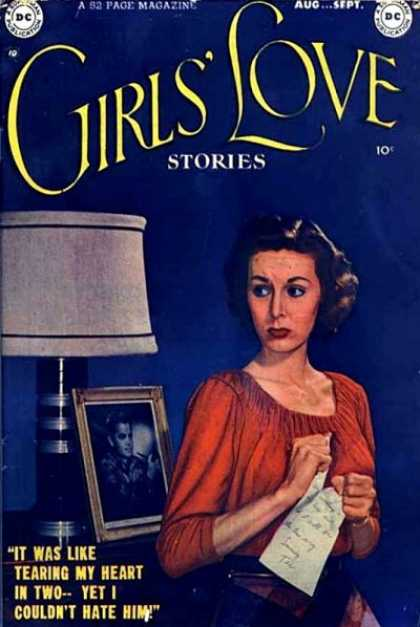 Girls' Love Stories Comic Book Back Issues of Superheroes by A1Comix