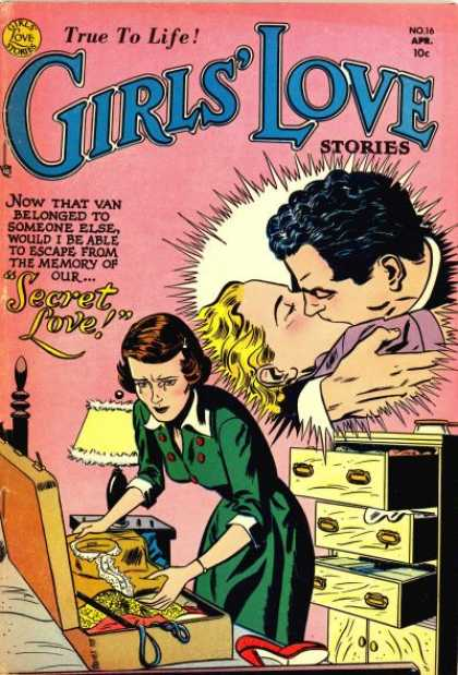 Girls' Love Stories A1 Comix Comic Book Database