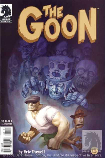 Goon Comic Book Back Issues by A1 Comix