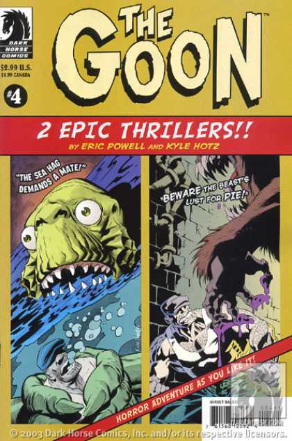 Goon, The A1 Comix Comic Book Database