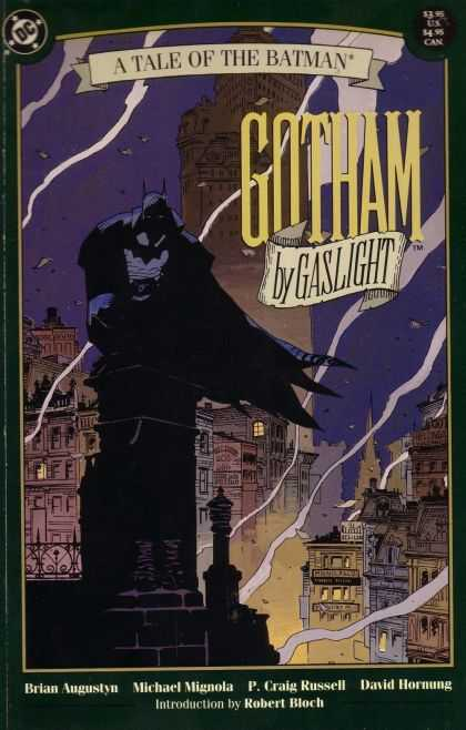 Gotham by Gaslight Comic Book Back Issues by A1 Comix