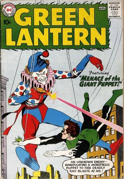 Green Lantern 1960 Comic Book Back Issues by A1 Comix