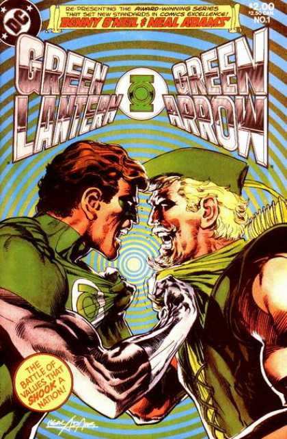 Green Lantern / Green Arrow Comic Book Back Issues by A1 Comix