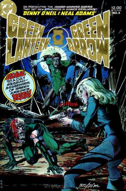 Green Lantern / Green Arrow A1 Comix Comic Book Database