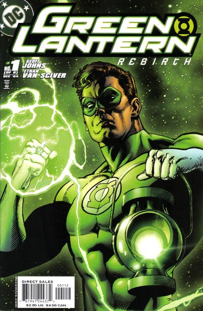 Green Lantern Rebirth Comic Book Back Issues by A1 Comix