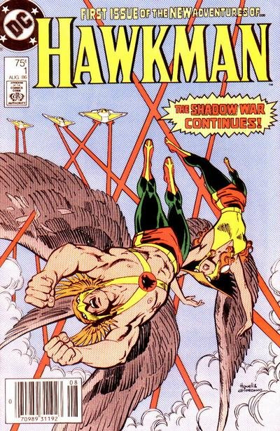 Hawkman 1986 Comic Book Back Issues by A1 Comix