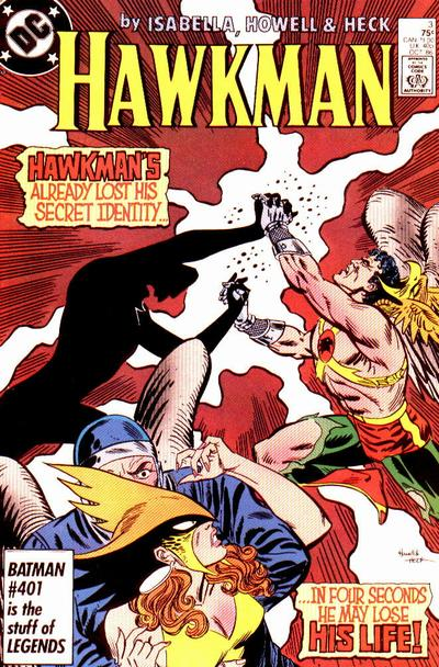 Hawkman 1986 A1 Comix Comic Book Database