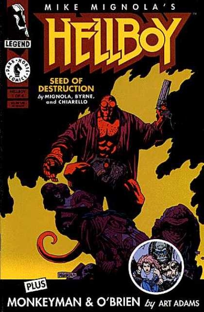 Hellboy: Seed of Destruction Comic Book Back Issues by A1 Comix