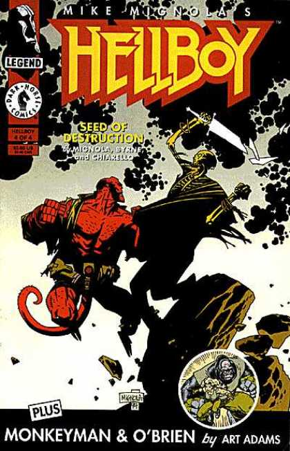 Hellboy: Seed of Destruction A1 Comix Comic Book Database