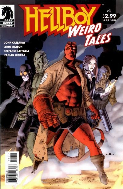 Hellboy: Weird Tales Comic Book Back Issues by A1 Comix