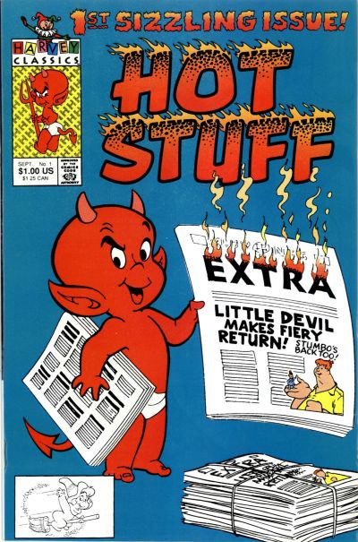 Hot Stuff Comic Book Back Issues by A1 Comix