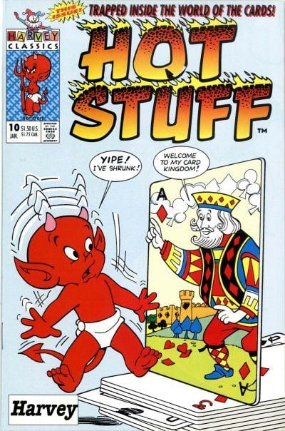 Hot Stuff comic book back issue comicbook back copy