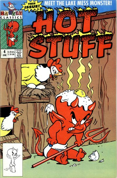 Hot Stuff comic book back issue comicbook back copy