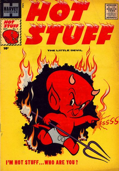 Hot Stuff, The Little Devil Comic Book Back Issues by A1 Comix