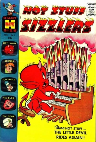 Hot Stuff Sizzlers Comic Book Back Issues by A1 Comix