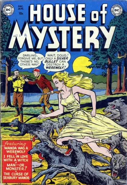 House of Mystery Comic Book Back Issues by A1 Comix