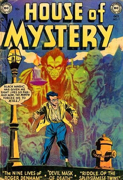House of Mystery A1 Comix Comic Book Database