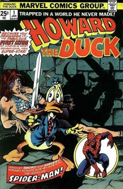 Howard the Duck Comic Book Back Issues by A1 Comix