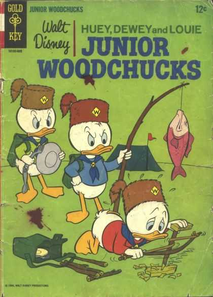 Huey Dewey & Louie: Junior Woodchucks Comic Book Back Issues by A1 Comix
