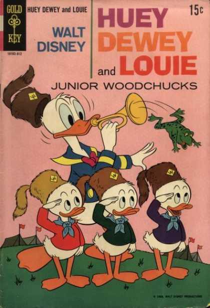 Huey, Dewey & Louie, Junior Woodchucks A1 Comix Comic Book Database