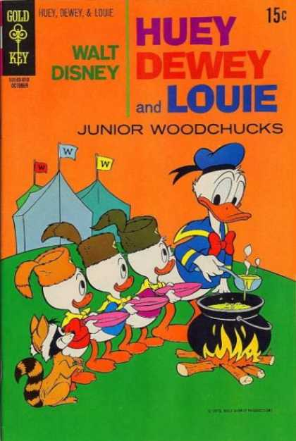 Huey, Dewey & Louie, Junior Woodchucks A1 Comix Comic Book Database