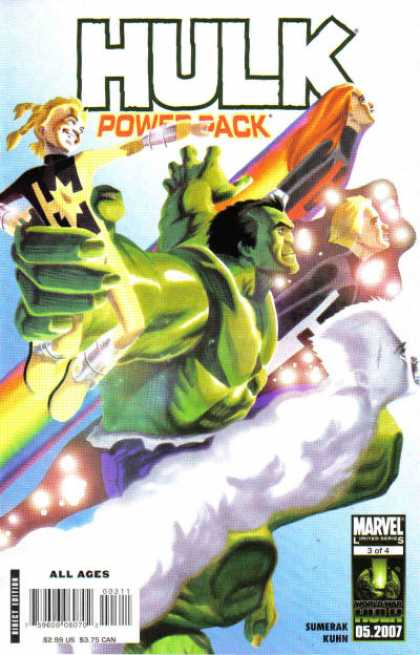 Hulk and Power Pack A1 Comix Comic Book Database