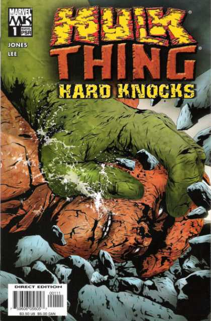 Hulk and Thing: Hard Knocks Comic Book Back Issues by A1 Comix