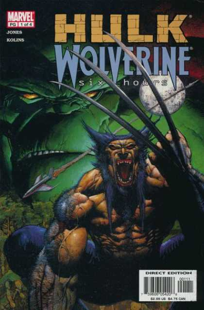 Hulk and Wolverine: Six Hours Comic Book Back Issues by A1 Comix