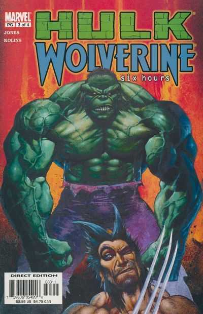 Hulk and Wolverine: Six Hours A1 Comix Comic Book Database
