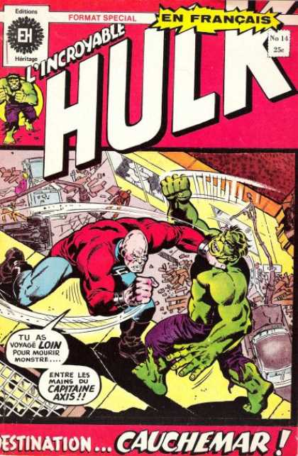 L'Incroyable Hulk A1 Comix Comic Book Database