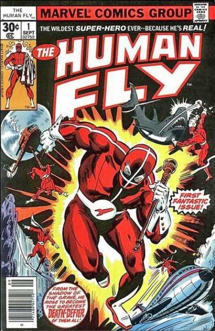 Human Fly Comic Book Back Issues by A1 Comix