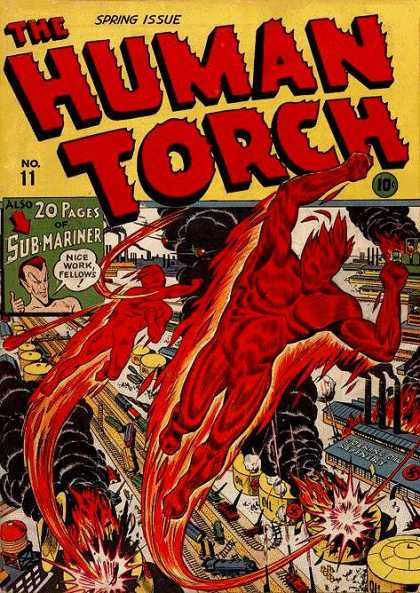 Human Torch A1 Comix Comic Book Database