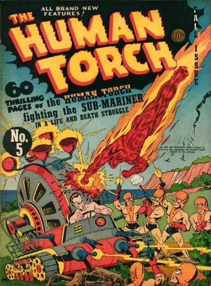 Human Torch A1 Comix Comic Book Database