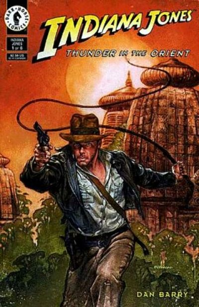 Indiana Jones: Thunder In the Orient Comic Book Back Issues by A1 Comix