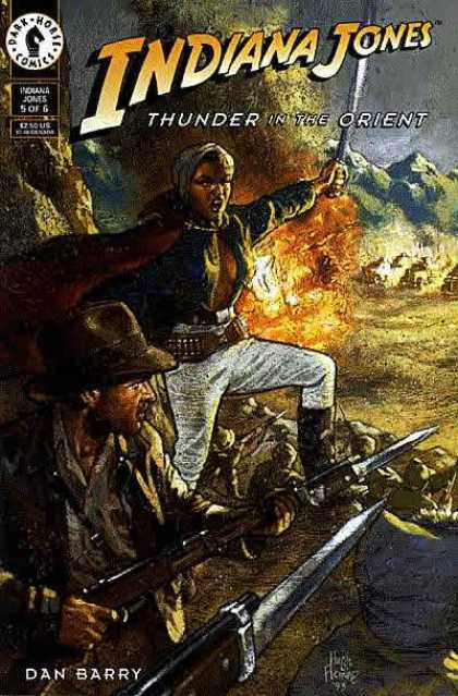 Indiana Jones: Thunder In the Orient A1 Comix Comic Book Database