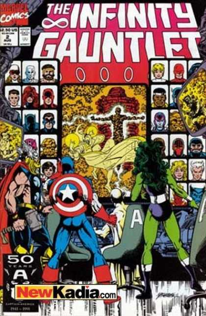 Infinity Gauntlet A1 Comix Comic Book Database