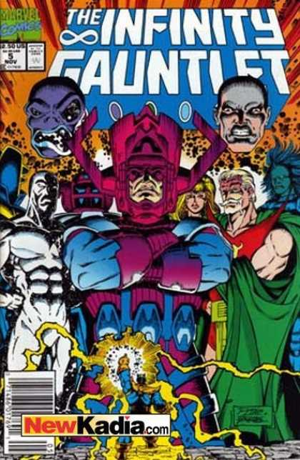 Infinity Gauntlet A1 Comix Comic Book Database